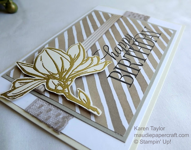 Stampin' Up! Remarkable You card