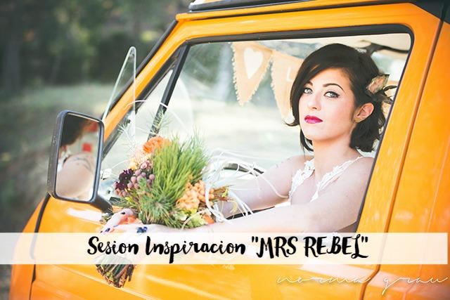 sesión inspiración novia mrs rebel norma grau novia diferente libre