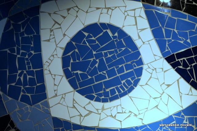 Warszawa Warsaw Sawa Grzybowska mozaika mosaic warszawskie mozaiki