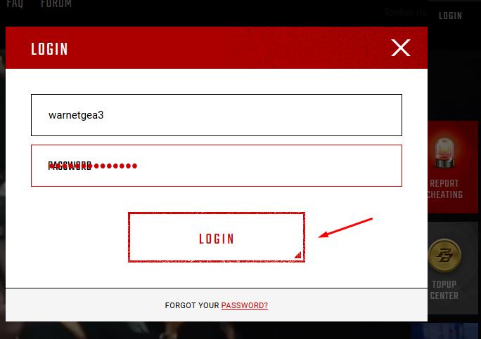 Cara Ganti Password Dan Verifikasi Email Pointblank Beyond Limit Pb Zepetto Warnetgea Com Online Gaming Browsing
