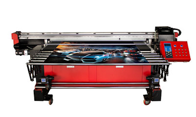 1.6m uv roll to roll and faltbed all-in-one inkjet printer