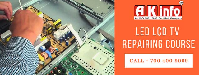 led lcd tv repairing course patna