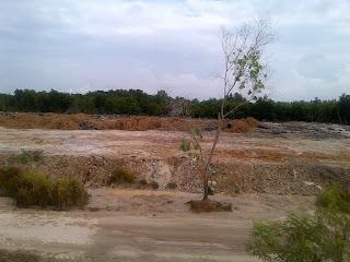 hasil-urukan-tanah-Waduk-Sekanak-Belakang-padang-Kepulauan-Riau
