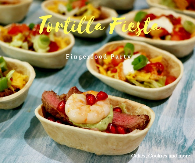Tortilla Fiesta - Fingerfood Party mit mini Tortilla Schalen