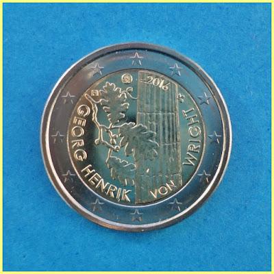 Finlandia 2016 2 Euros Wright