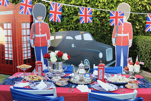 LAURA'S little PARTY: Host a Royal Wedding Tea + Viewing party