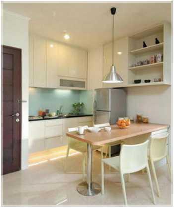 dapur minimalis ukuran 2x3