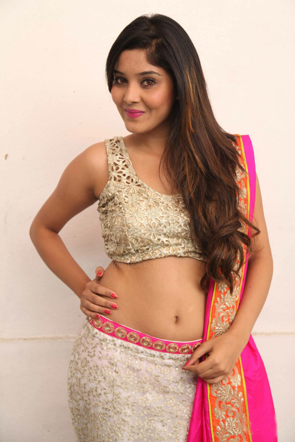 Aishwarya Shindogi Hot Navel Photos