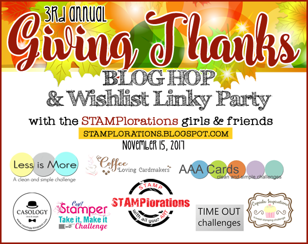 GIVING THANKS Wishlist Linky Party