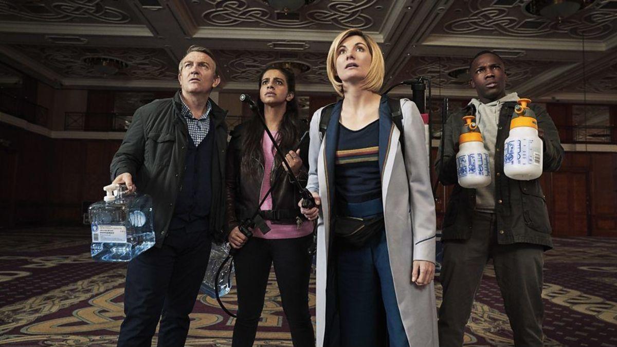 Doctor Who: Arachnids in the UK