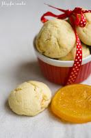 (Ciastka pomarańczowe z białą czekoladą