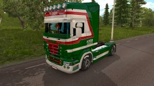 Kees Kroon skin for Scania RJL