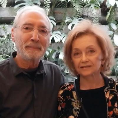 Percival Lafer e sua esposa, Branca.