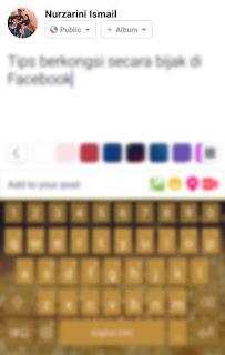Tips Mengawal Siapa Yang Boleh Melihat Perkongsian di Facebook