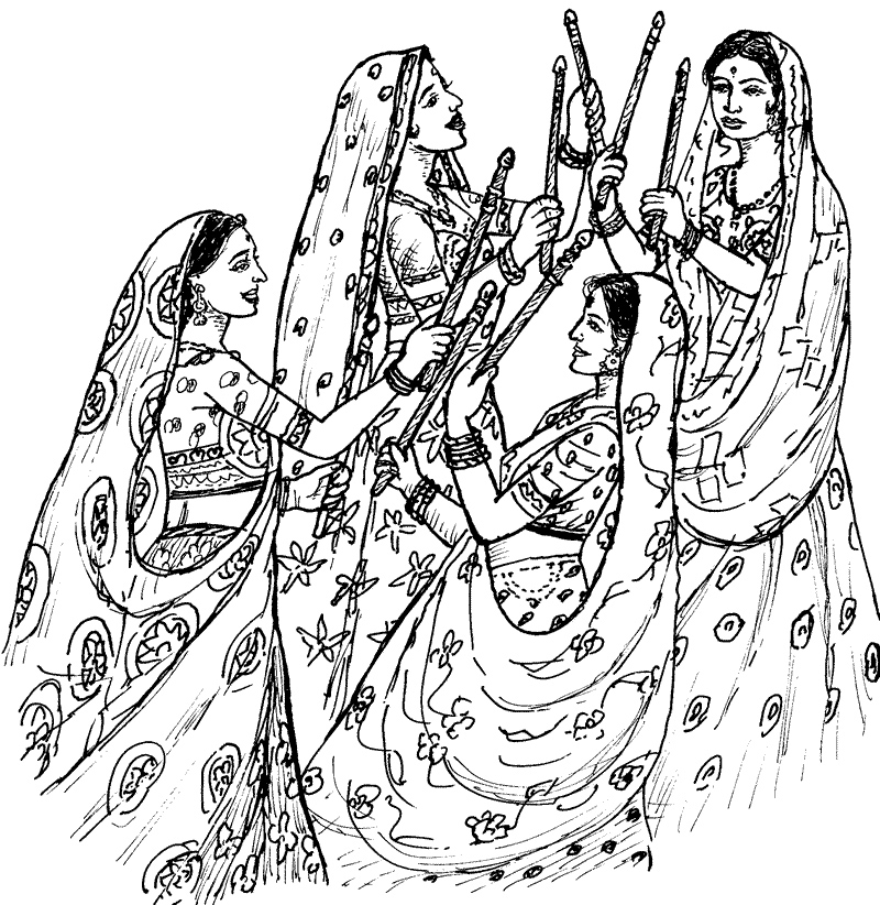 navratri pages