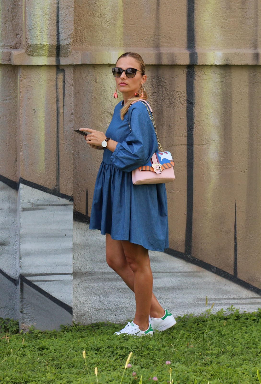 Eniwhere Fashion - Zaful - ootd - denim dress