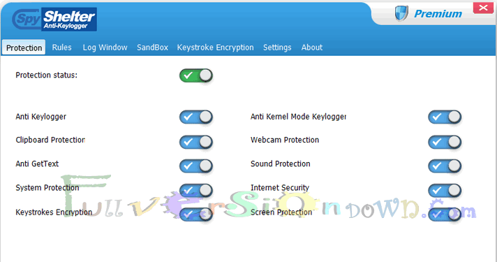 SpyShelter Premium Full Version