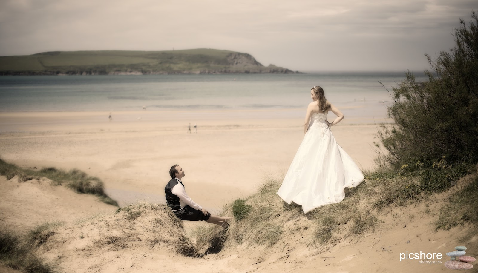 Daymer Bay Cornwall Beach Wedding Pics Photography