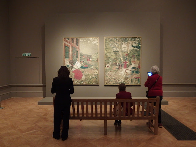 Gardens in Reverie - 2 of Edouard Vuillard's paintings