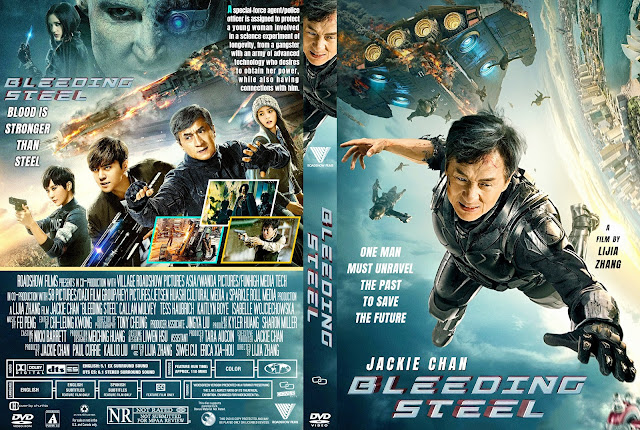 Bleeding Steel DVD Cover