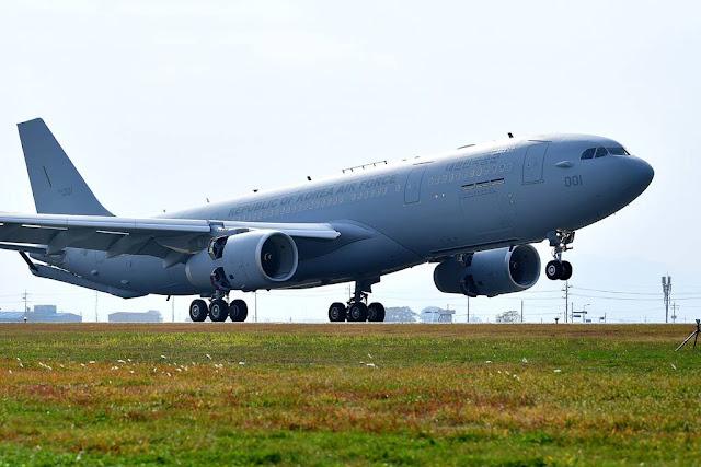Korea receives first A330 tanker