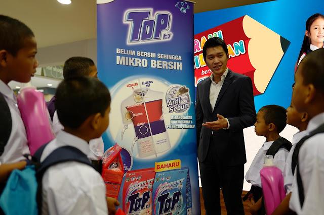 top, #TOPcerahikehidupan, top CSR campaign