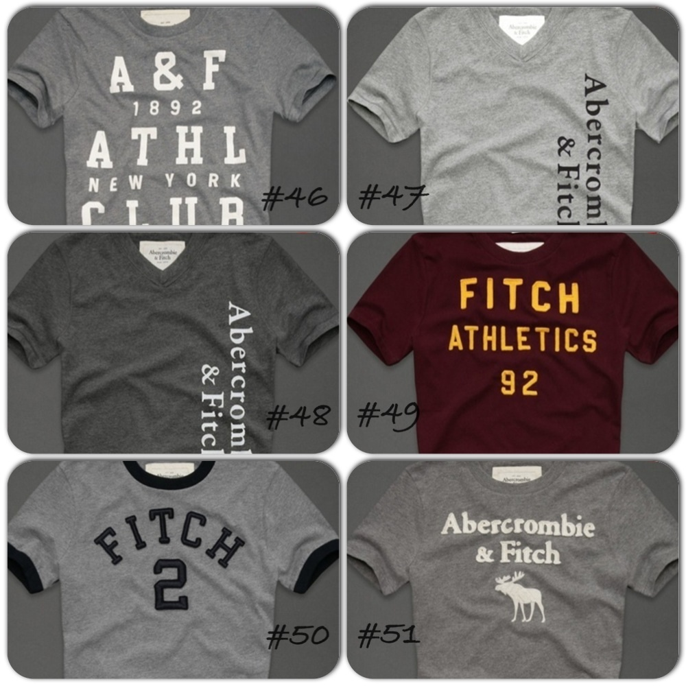 Abercrombie Fitch Men S Preorder Size Chart At The Bottom