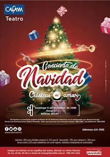 POS 2 CONCIERTO Clasicos Navideños 2018 | Teatro Cafam