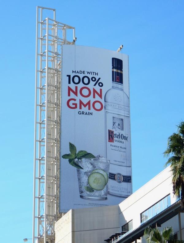 Ketel One Vodka Non GMO billboard