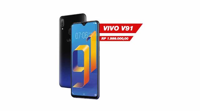 HP Full Layar Tanpa Bezel Murah Vivo Y91 2GB/16GB Dan Spesifikasi