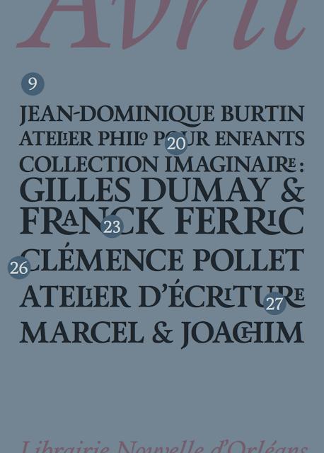 Franck Ferric à la Librairie Nouvelle (Orléans)