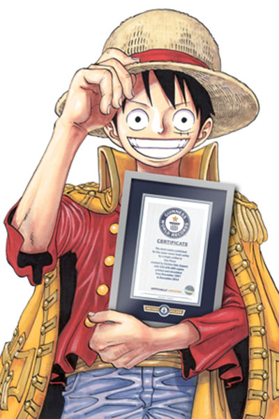 One Piece holds a Guinness Book of World Records title