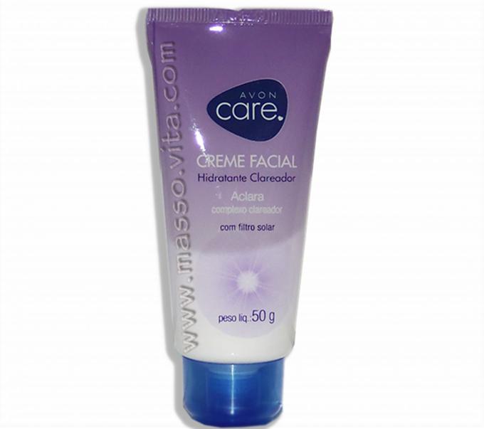 Creme Facial Hidratante Clareador