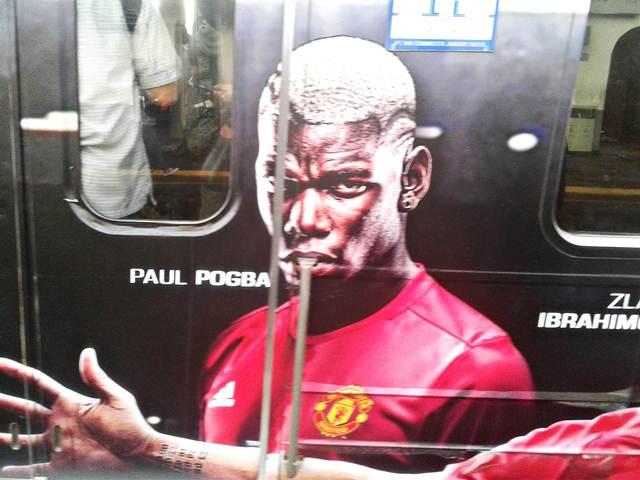 Ada Paul Pogba di Commuter Line