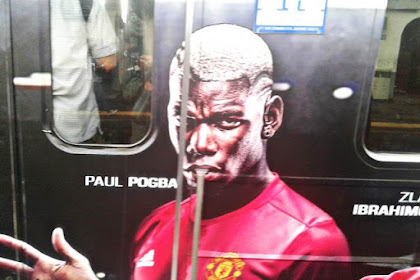 Ada Paul Pogba di Commuter Line