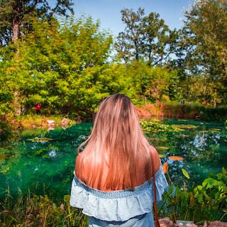 The New Blacck - Orléans - Blog - Chaumont sur Loire - Visite des jardins - eau turquoise