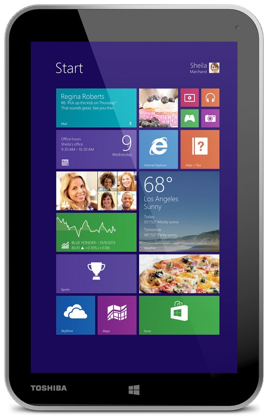 Toshiba Encore unveiled with 8 inch display priced at $330