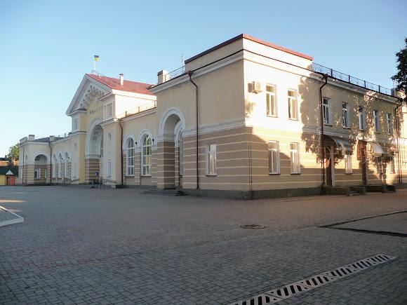 Конотоп. Железнодорожный вокзал. 1953 г.