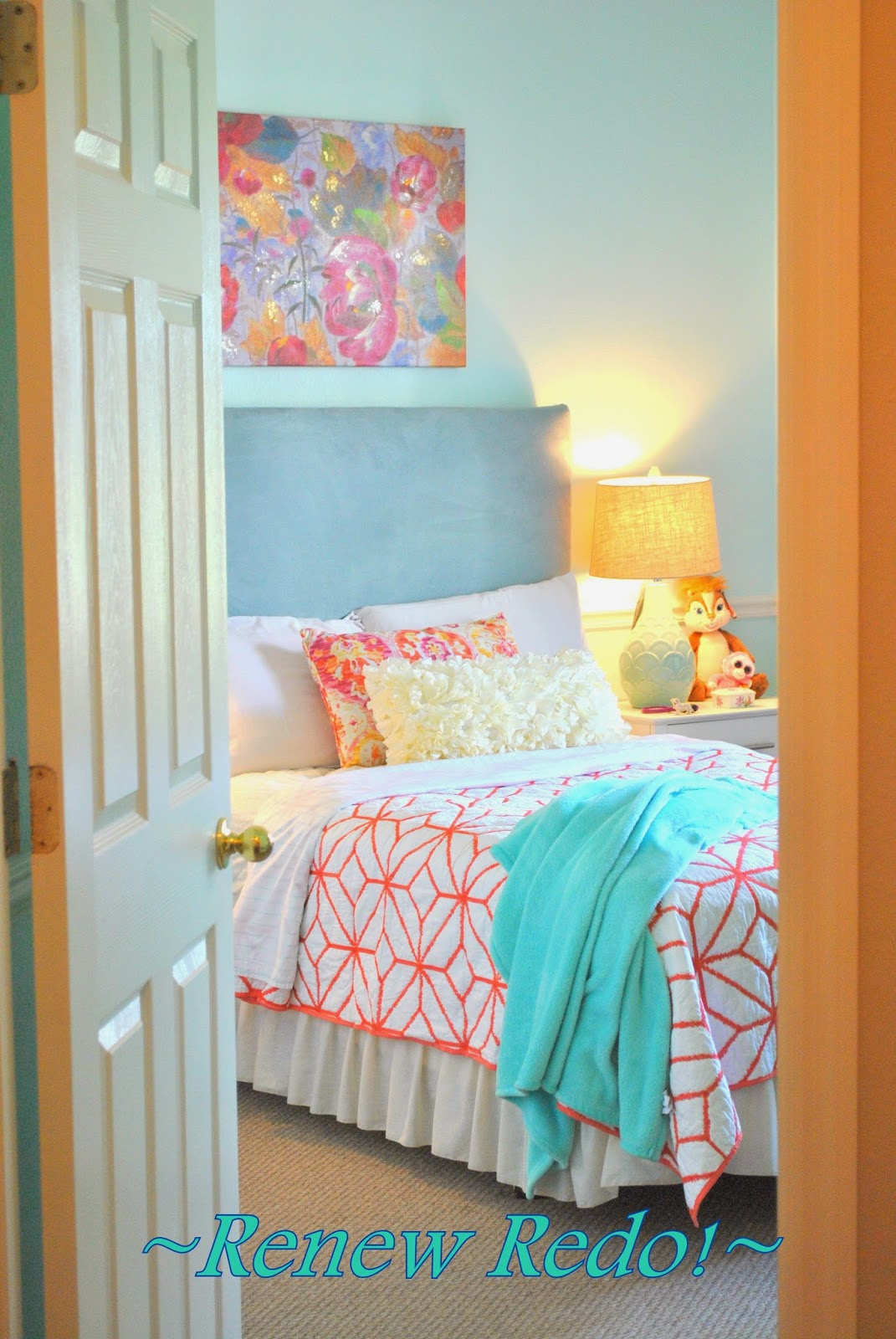 ReNew ReDo!: Girls Room Makeover ~ Before and Afters ...