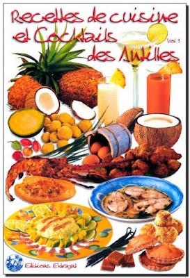 Télécharger Livre Gratuit Recettes de Cuisine et Cocktails des Antilles pdf