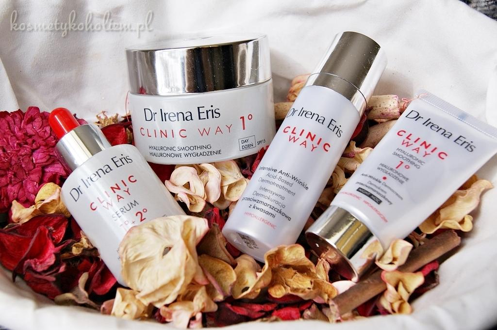 Czy wiosną i latem można stosować kwasy? | Dr Irena Eris CLINIC WAY Dermokuracja przeciwzmarszczkowa z kwasami, Hialuronowe wygładzenie
