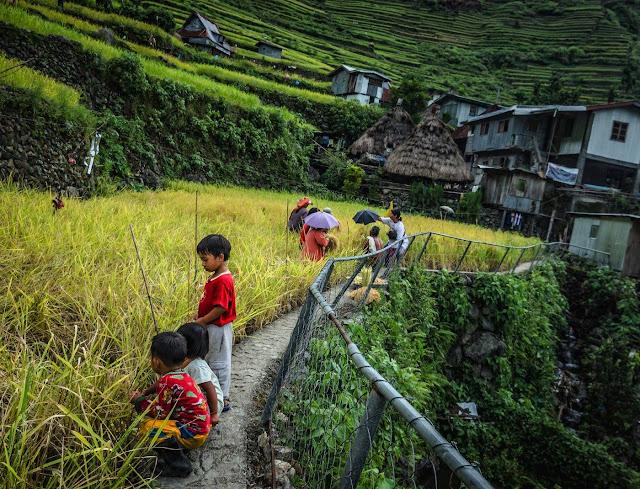 Local Kids of Batad