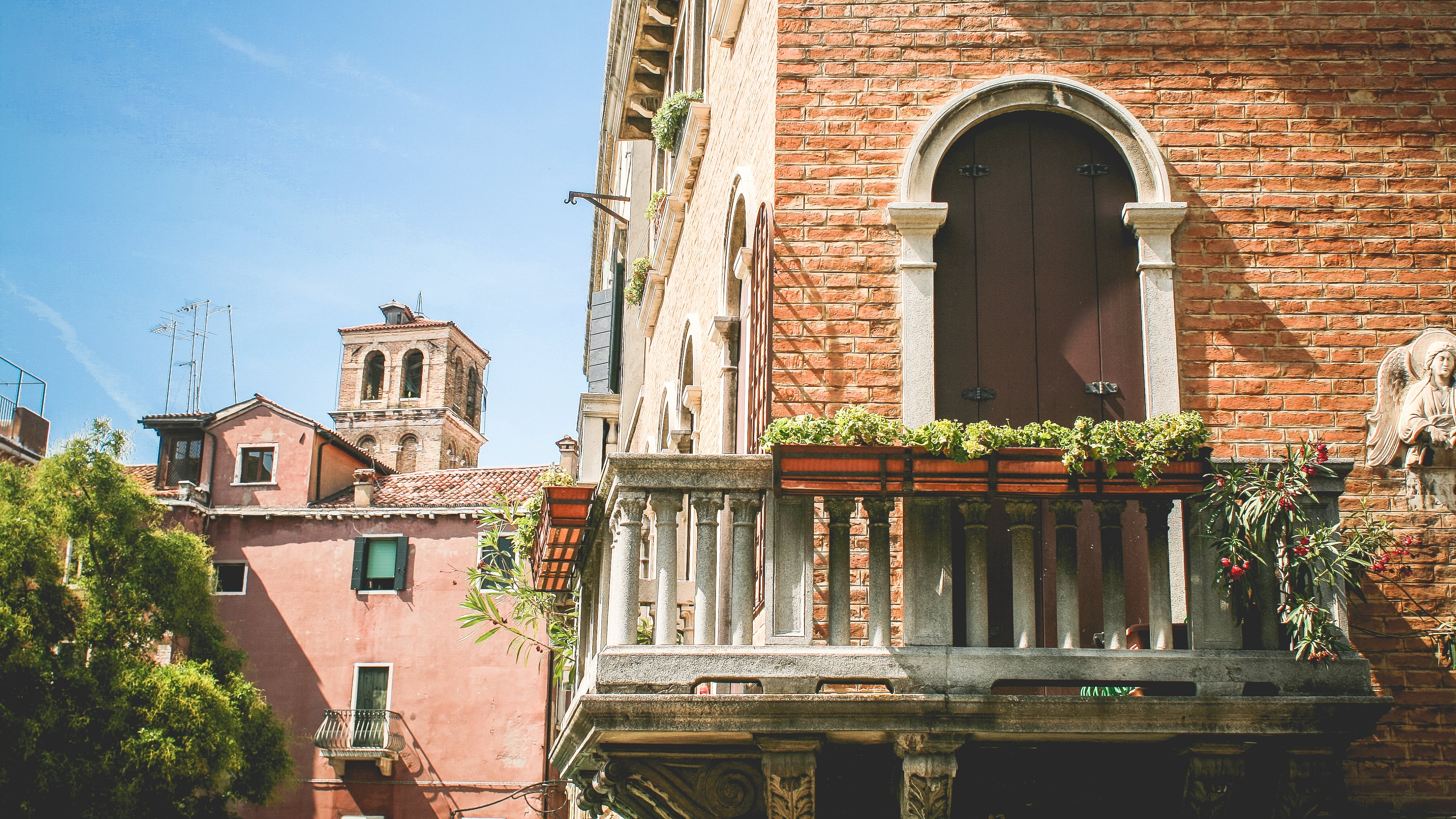 Summer In Italy The Venice Architecture Hd Wallpapers