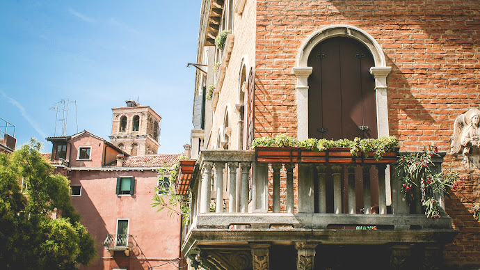 Wallpaper: Summer. Italy. Architecture. Venice