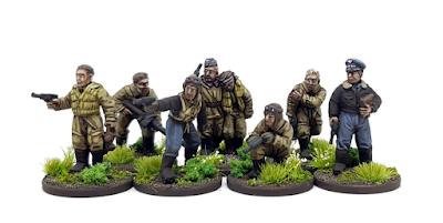 Foundry Miniatures Downed German Aircrew