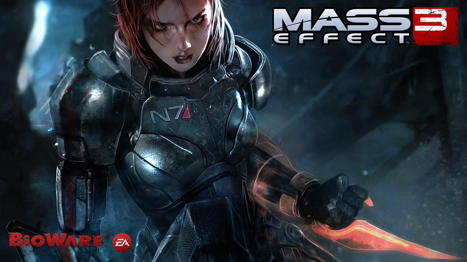 Eyesurfing: Mass Effect 3 Wallpaper 壁紙
