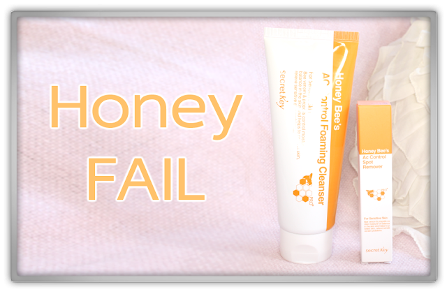Secret Key Honey Bee's AC Control foaming cleanser spot remover haul review fail beauty blogger blog korean skincare beautynetkorea