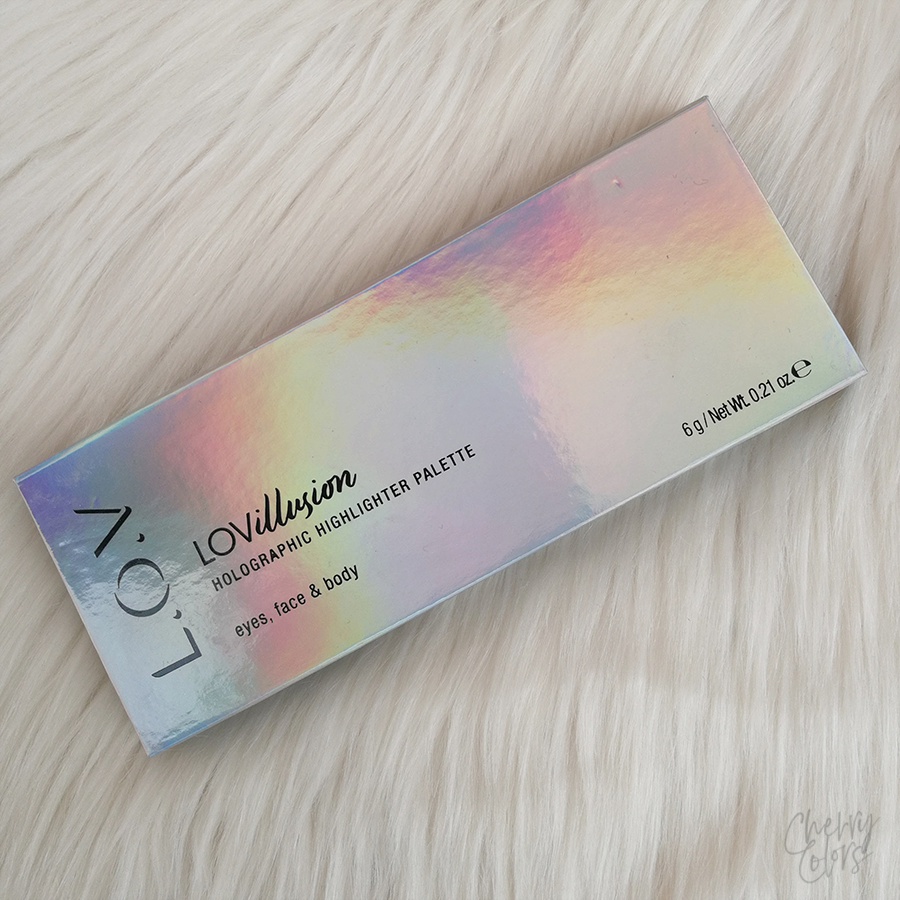 LOVillusion HOLOGRAPHIC HIGHLIGHTER PALETTE