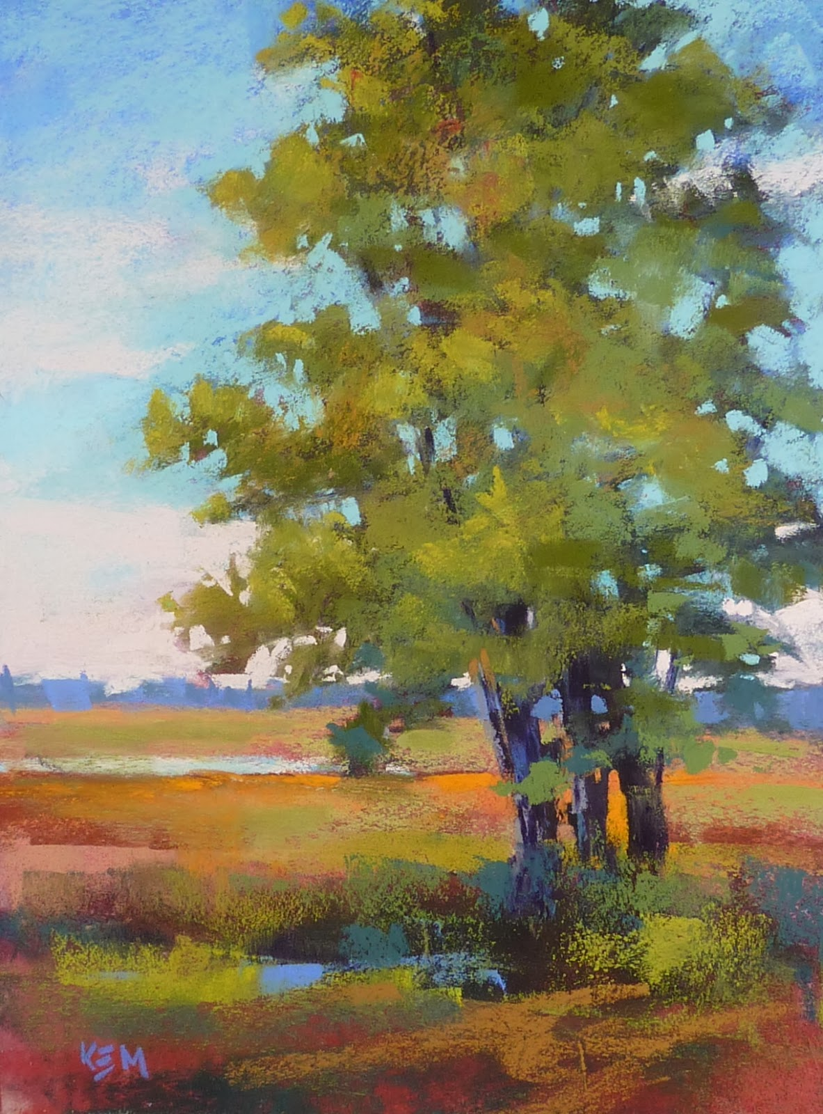 Tree Drawing With Watercolor Painting My World Painting Trees This Week Join Us