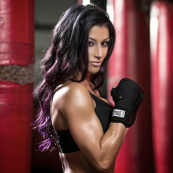 Christina Vargas Boxing